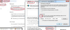 Chrome Proxyeinstellungen