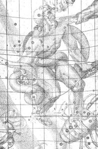 Sternenbild Schlangenträger - nach Kepler - aus Wikipedia