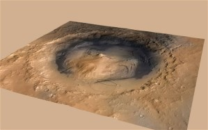 Mars Erdloch